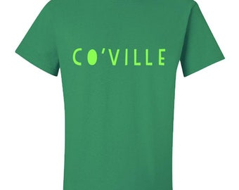 Co'ville - Leicester Dictionary Coalville Collection Mens Fun Funny Midland Midlands T-Shirt Tee S M L XL 2XL 3XL 4XL 5XL 6XL