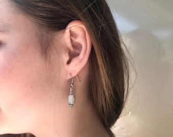 INGA EARRINGS glass beads.