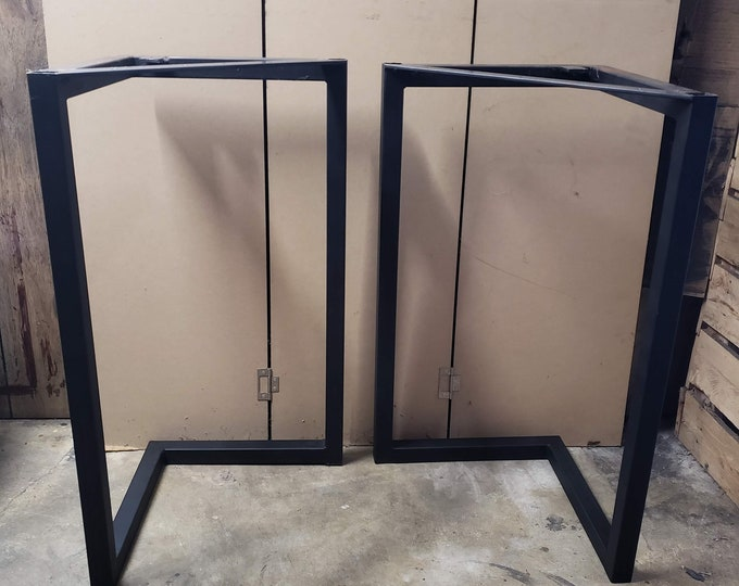 Metal Table Legs Large Table Legs Steel Table Legs READY TO SHIP Metal Legs