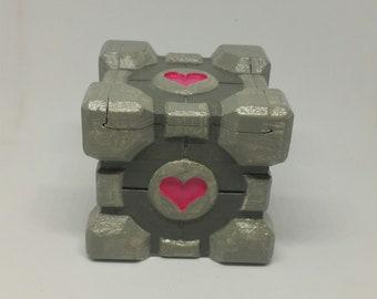 Portal Companion Cube Storage Box
