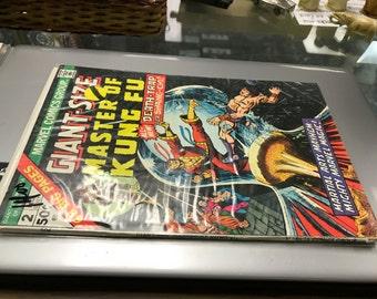 Three mint copies of Masters of Kung fu! Marvel comics! Martial arts meyhem at it's best.