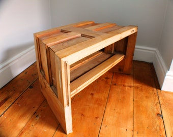 Reclaimed Doors TV corner cabinet stand / coffee table