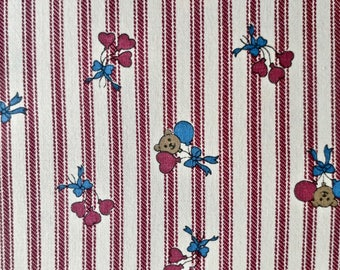 Vintage Quilting Fabric 3 yards and 34 inches long x 44 inches wide