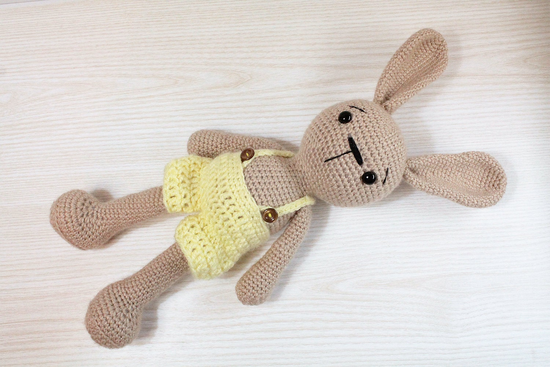 PATTERN : Bunny-Rabbit Amigurumi bunny pattern Crochet
