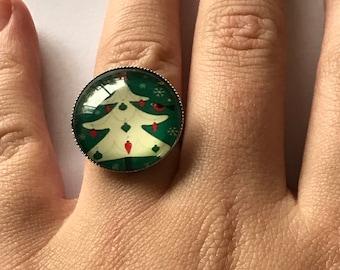 Christmas tree ring