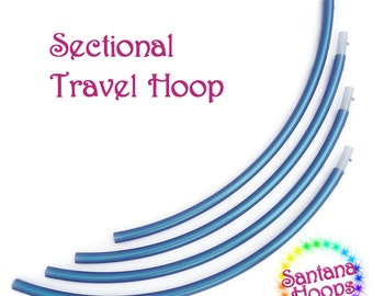 ADD-ON 4, 5 or 6  piece Sectional Travel hula hoop Add-on