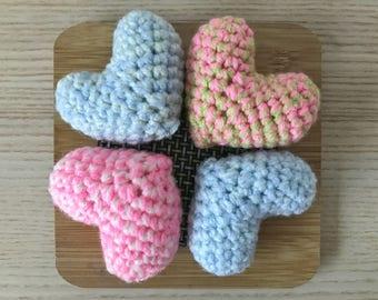 Crochet Afternoon Hearts - Big