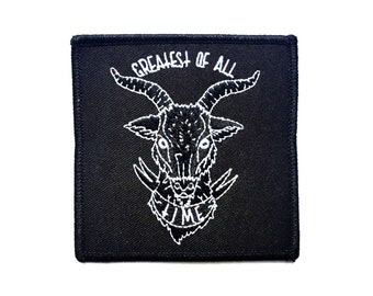 G.O.A.T. LIMITED EDITION Patches