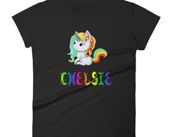Chelsie Unicorn Ladies T-Shirt