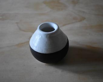 Black and White Vase