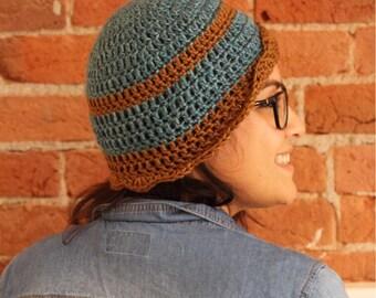 Hand Crocheted Cloche Hat
