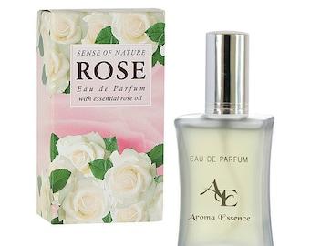 Eau de Parfum Rose Sense of Nature, 35ml with Bulgarian Rose oil