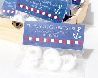 Nautical Baby Shower Favors - Nautical Mint Baby Shower Favors , Baby Shower