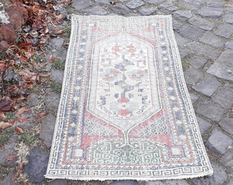 Vintage Decorative Small Rug DOOR MAT Rug Decorative Home Entrance Mat Door Mat Bath Mat   (4.8 x 2.5 feet)