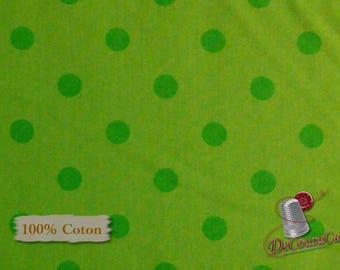 Green, Ta-Da!, by Dana Brooks, Henry Glass & Co, multiple quantity cut in one piece, 100% Cotton,