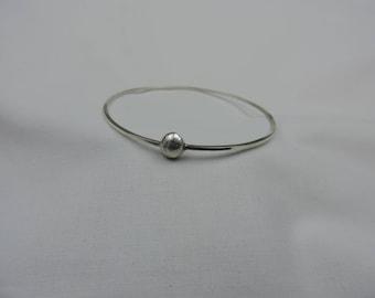 Polished Sterling Silver Bangle