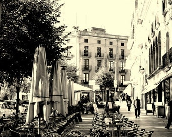 Travel Photography, Photos of Spain, Spain Art, Figures Spain, Fine Art Photography, Livingroom Wall Art, Cityscape, Spain Print, Espana
