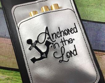 Bible Pen Holder planner pocket - planner accessories -best gifts for her - fits bibles, happy, erin condren, mambi, bullet journals