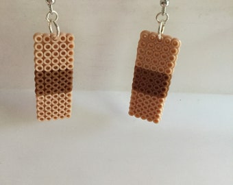 Bandaid earrings