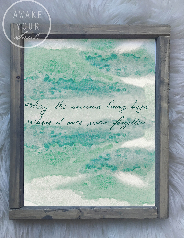 May the sunrise bring hope iron and wine lyrics digital art zoom stopboris Image collections
