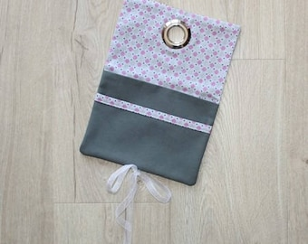 Small tote bag sewing kit Gigie pink