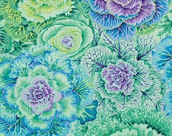 1/2 Yard Brassica Green  Kaffe Fassett  fabric  PJ051