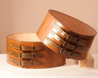 "Belt leather men ""Cheres"" Custom made belt."