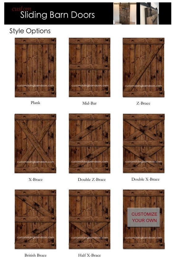 Rustic Sliding Barn Door Custom Made To Fit Your Style From