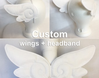 Kawaii Wings Combo Set custom kawaii wings costume set magical girl cosplay wings angel wings custom kawaii wings set sakura cosplay wings