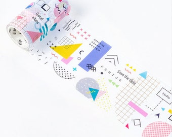 Washi tape-strokes and dots 3