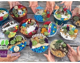 Fairy Garden Party Kit, Fairy Garden Kit, Fairy Garden Party, Fairy Garden  Kits