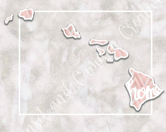 Home - Hawaii - Marble Pattern