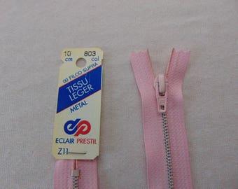 Pink metal zipper (Z11 803)