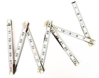 Vintage Lufkin Folding Wooden Ruler