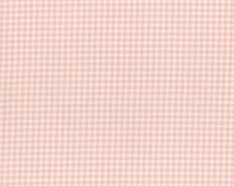Durham by Lecien 2017  Checkered Print Cream and Pink 31475-20