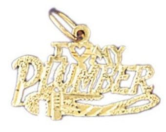 I Heart My Plumber Charm (JC-680)
