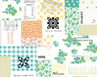Sew 'N Sew - Patchwork Fruity by  Chloe's Closet for Moda, 1/2 yard, 33180 11