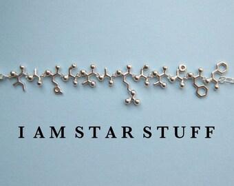 Mad Scientist challenge - I AM STARSTUFF necklace