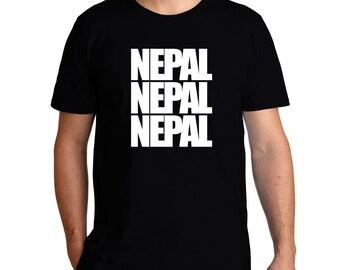 Nepal Three Words T-Shirt