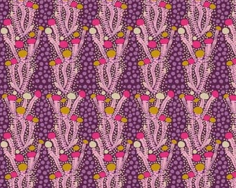Sweet Dreams by Anna Maria Horner for Free Spirit - Ladder - Eggplant - 1/2 yard Cotton Quilt Fabric
