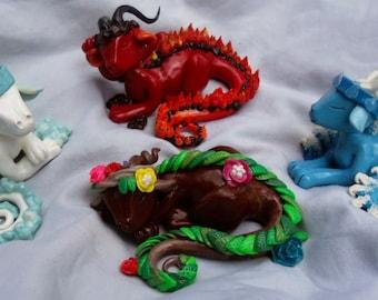 Full Elemental Dragons SET