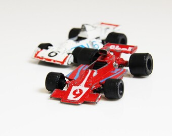 80s Formula 1 Racing Cars - Red & White