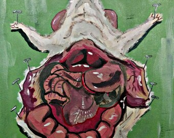 Dissection No. 1 | Original Canvas Art