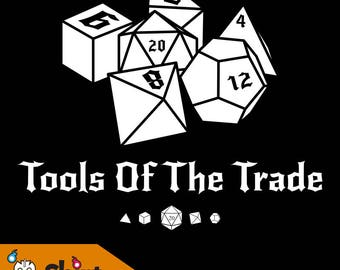 DnD Dice Tools of the Trade T-shirt