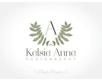 Logo Design (Premade) Monogram logo, Elegant Logo, Branches Logo, Vine Logo, Luxury Logo, Photography Logo, Business Logo, Initials logo
