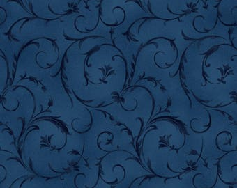 Midnight Blue Beautiful Backing 108in Wide Backing Fabric