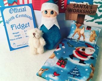 Baby Elf Doll Fidget The Shelf Sitter