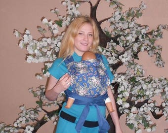 Paisley Mei Tai for Summer Baby Love ABC baby carrier