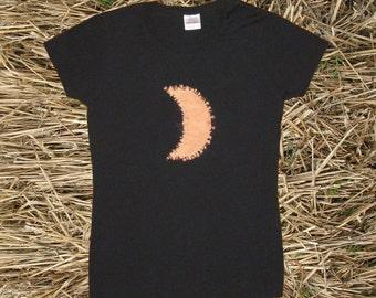 Crescent Moon Tie-dye Women's Tee