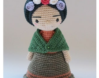 Mini Frida - Crochet Pattern by {Amour Fou}